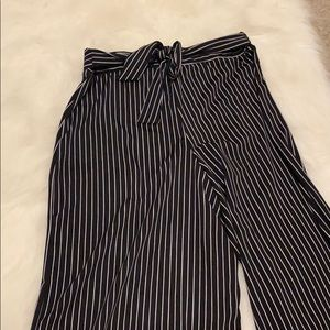 Black and white striped super soft and silky
